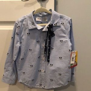 Mickey shirt with bow tie